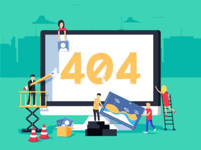 creare una pagina di errore 404 personalizzata in wordpress