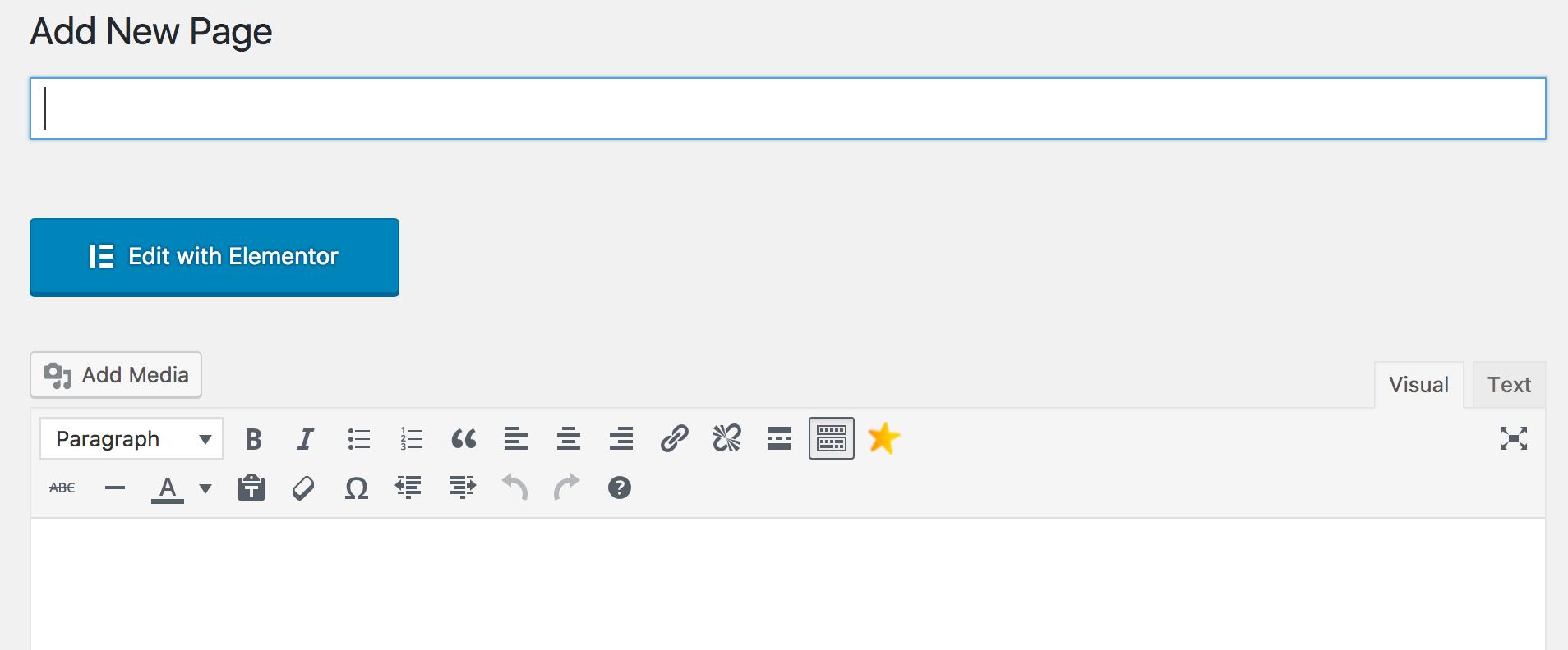 usare elementor per wordpress