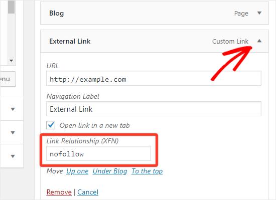 aggiungere-link-nofollow-wordpress-link-relationship-xfn