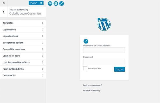 personalizzare-logo-wordpress