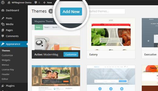 aggiungi-nuovo-tema-wordpress