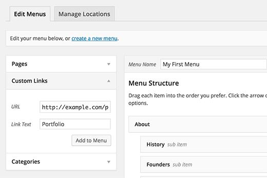 creare-link-collegamento-personalizzato-sul-menu-di-wordpress