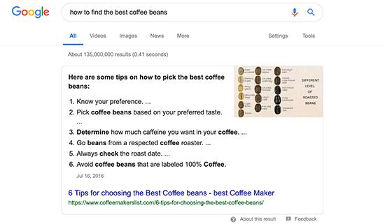 google-answer-box-obiettivo-seo