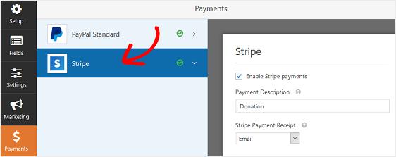 wpforms-accettare-pagamenti-ricorrenti-stripe-settings