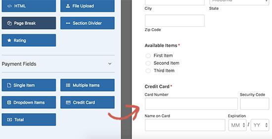 aggiungere-pagamento-con-carta-di-credito-in-un-form-di-wordpress