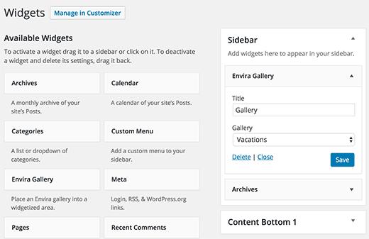 aggiungere-widget-galleria-di-immagini-envira-in-wordpress