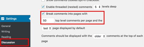 aumentare-velocita-sito-wordpress-dividendo-commenti-in-piu-pagine