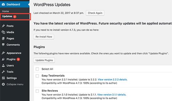 come-aggiornare-wordpress-per-prevenire-attacchi-brute-force
