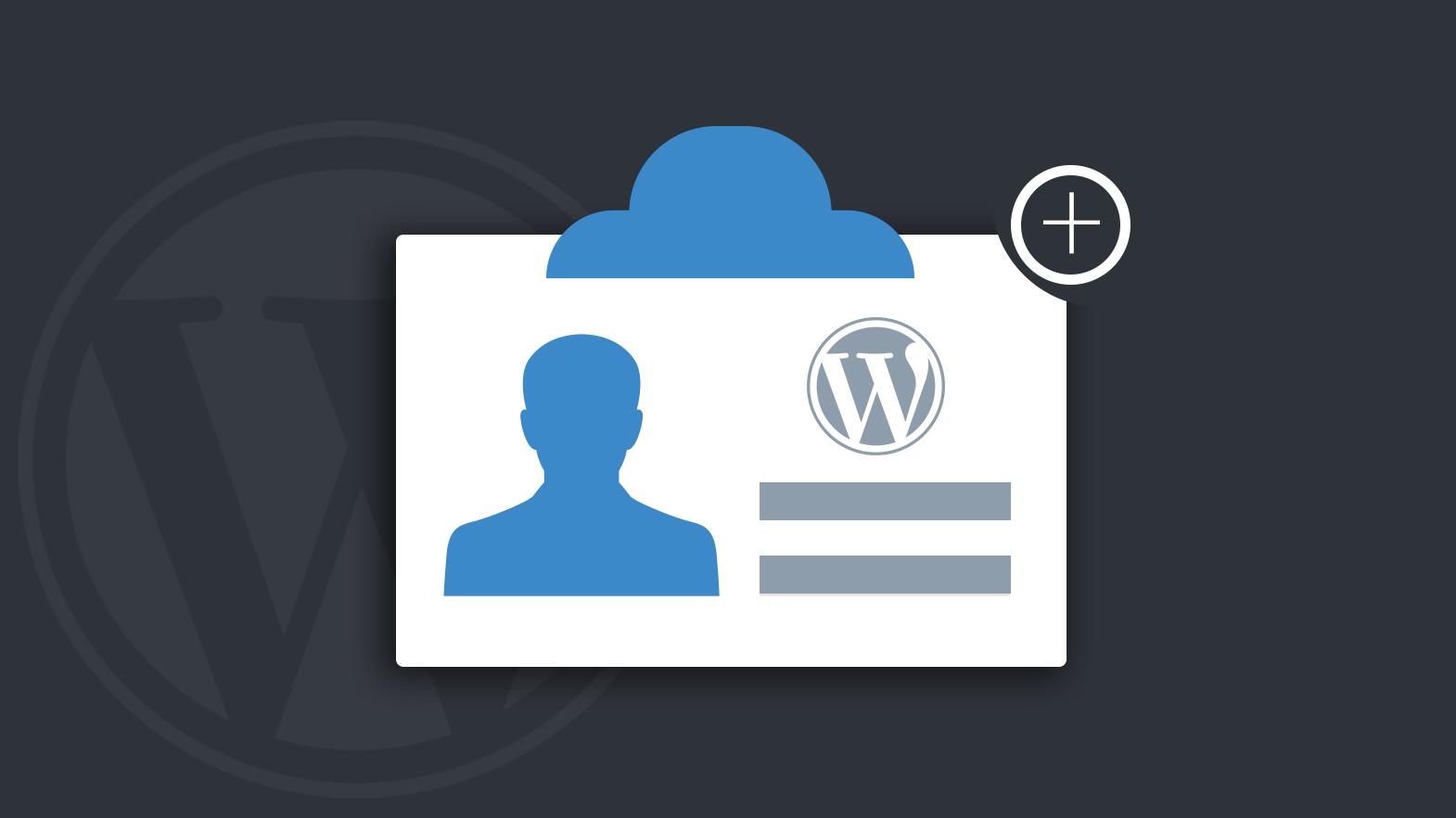 come creare un form di registrazione personalizzato in wordpress