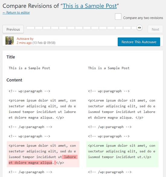 come-usare-le-revisioni-in-wordpress