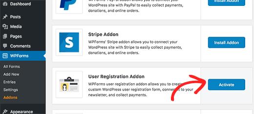 form-registrazione-utente-addon-wpforms