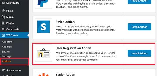 form-registrazione-utente-con-wpforms