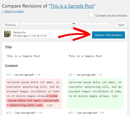 ripristinare-una-revisione-in-wordpress