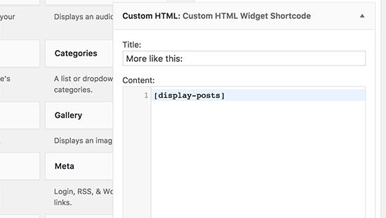 come-aggiungere-shortcode-in-widget-html-personalizzato