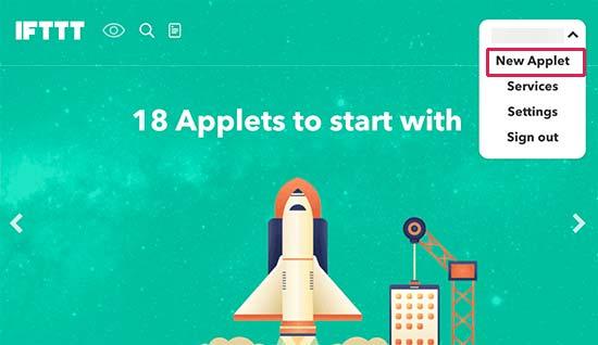 newapplet-ifttt-per-pubblicare-automaticamente-su-facebook-da-wordpress