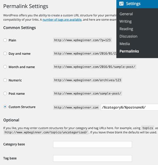 permalink-seo-friendly-wordpress