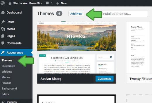 creare-blog-in-wordpress-scelta-tema