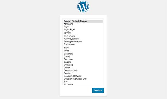installare-wordpress-scelta-lingua
