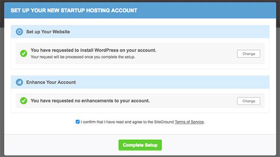 installazione-wordpress-con-siteground-completata