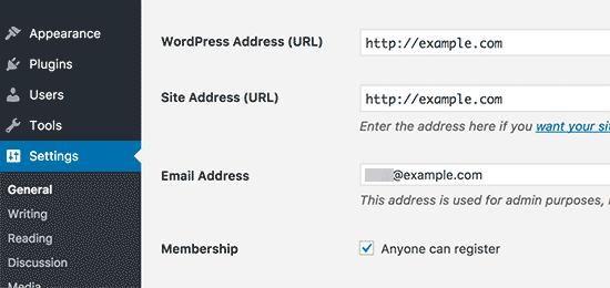 modificare-indirizzo-dominio-in-wordpress
