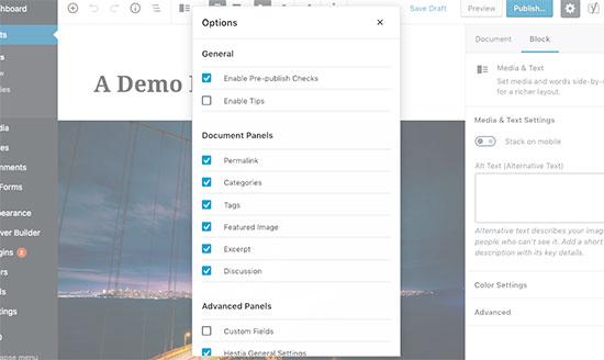 selectpanels-per-post-di-wordpress