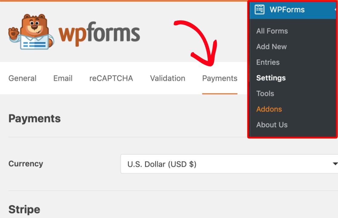 scheda-pagamenti-wpforms-per-accettare-pagamenti-in-wordpress