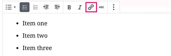 come-inserire-un-link-con-gutenberg-block-editor