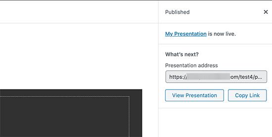 come-pubblicare-una-presentazione-in-wordpress
