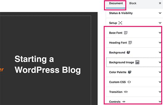impostare-presentazione-stile-powerpoint-in-wordpress