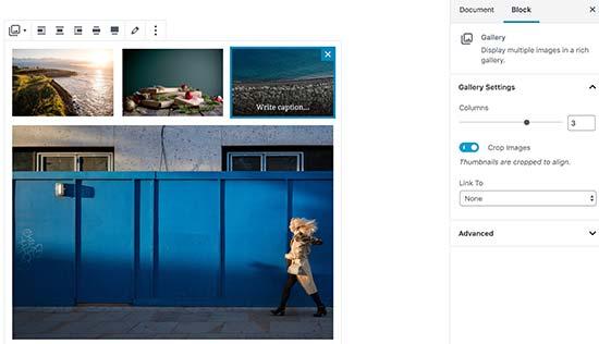 inserire-galleria-immagini-in-wordpress-con-gutenberg