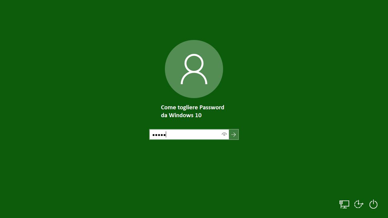 come-togliere-password-di-accesso-da-windows-10