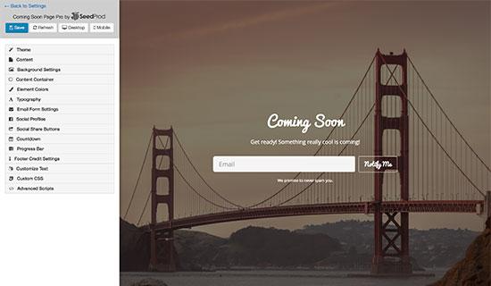 Comingsoonpro Landing Page