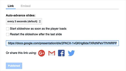 condividere-presentazioni-google-slides-su-wordpress