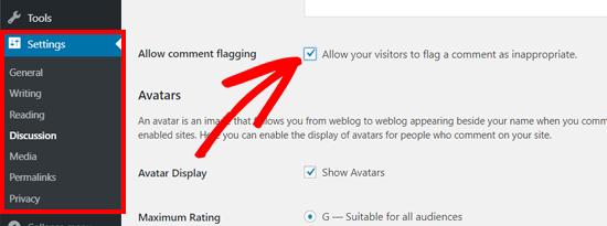 consentire-agli-utenti-di-segnalare-commenti-inappropiati-in-wordpress
