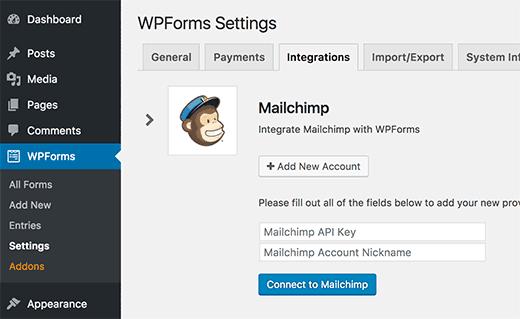 Mailchimp Integ