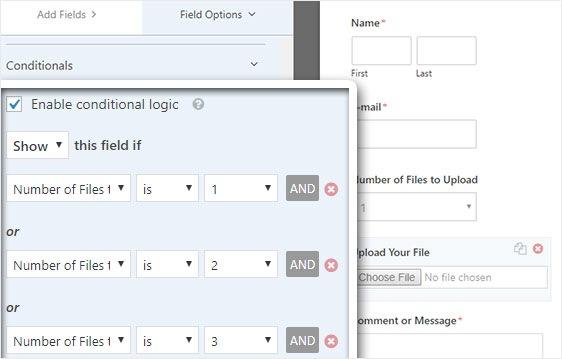 Upload Your File Form