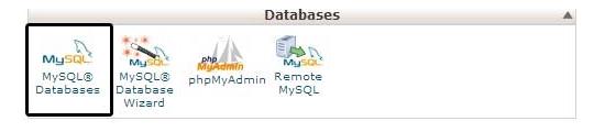 Databaseincpanel