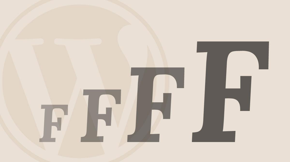 come-modificare-la-font-size-dimensione-del-carattere-in-wordpress