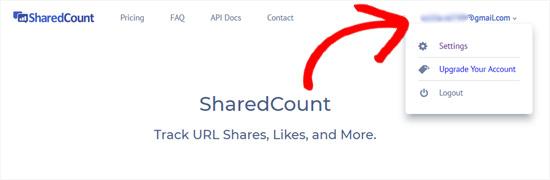 Sharedcountsaccount