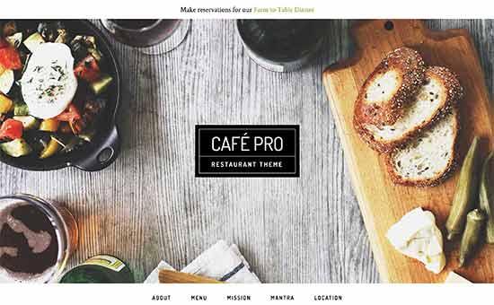 Cafepro Theme