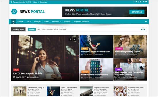 News Portal Theme