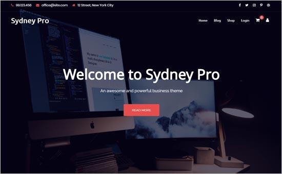 Sydney Pro Theme