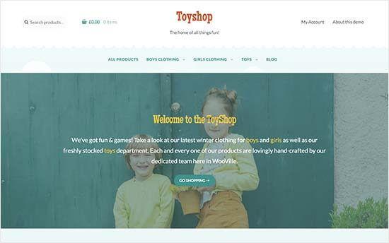 Toyshop Theme Woocommerce