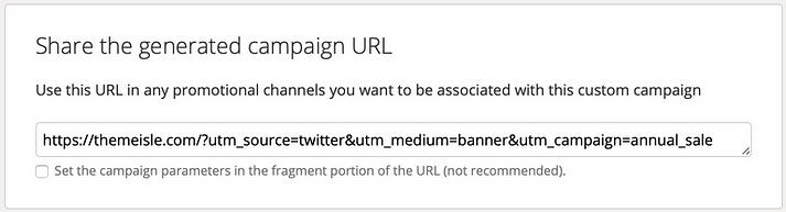 Campaign URL