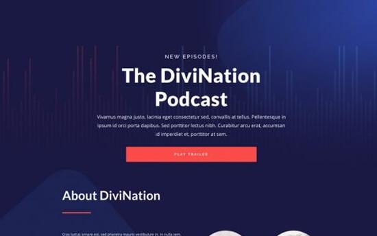 Divi Theme Podcast