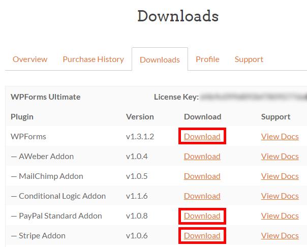 Download Plugins