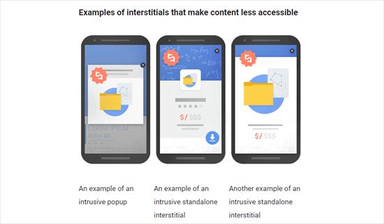 Google Interstitials Example