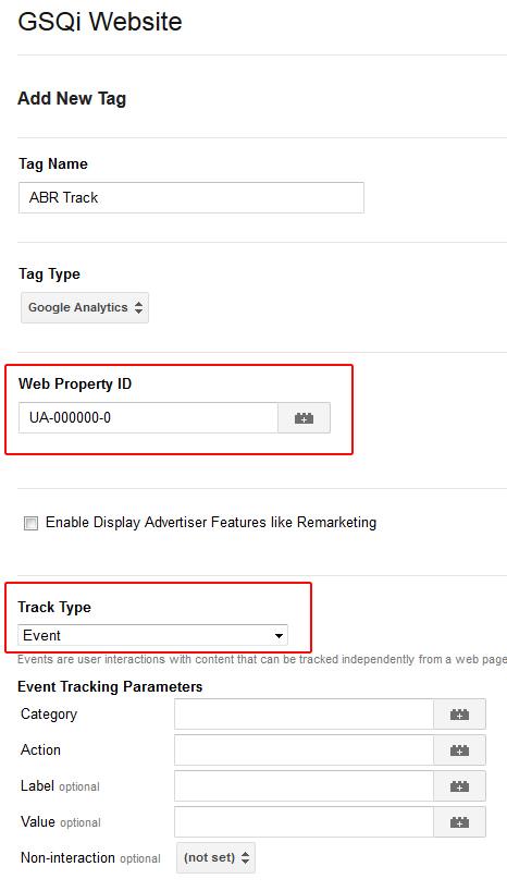 Gtm Add Ga Tracking Tag