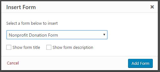 Insert Form