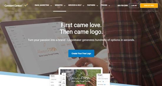 Logomaker Constant Contact